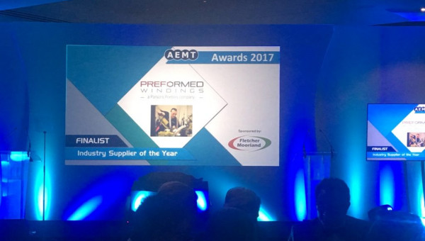 Preformed Windings at the AEMT 2017 Awards
