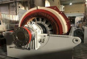 Generator Testing in Rosyth